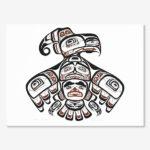Northwest Coast Native Artist Burton F. Amos from Haisla / Tsimshian Nation