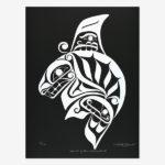 Northwest Coast Native Artist Karla L. West from Kwakwaka'wakw Nation