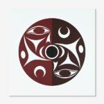 We'Ve Print by Northwest Coast Native Artist lessLIE