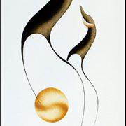 Seeking Knowledge II Original Painting by Plains Native Artist Garnet Tobacco