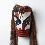 Wood and Bark Ancestor Mask by Northwest Coast Native Artist Joe David