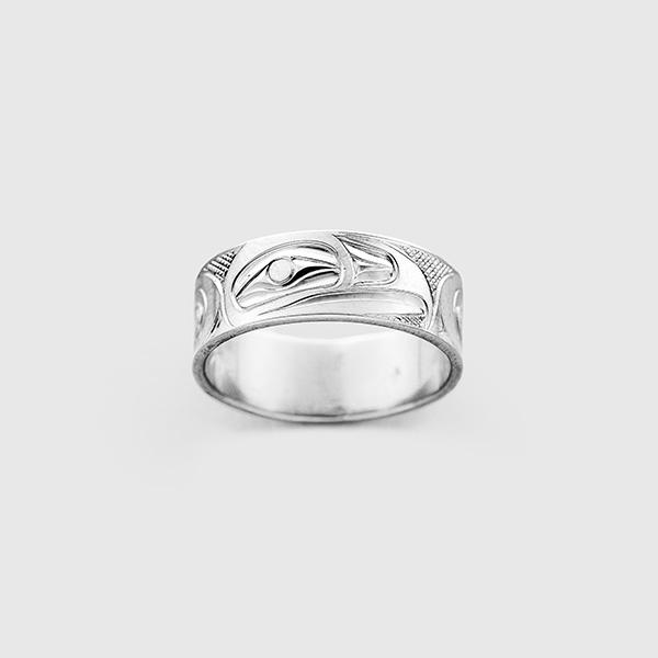 Gold Eagle Ring by Native Artist Landon Gunn
