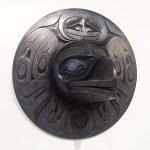 Forton Raven Mask by Northwest Coast Native Artist Ben Davidson