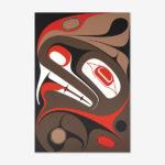 T'siwg (Beaver) print by Native Artist Ben Davidson
