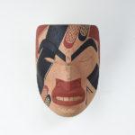 Wood Vision Quest Mask by Northwest Coast Native Artist Douglas David