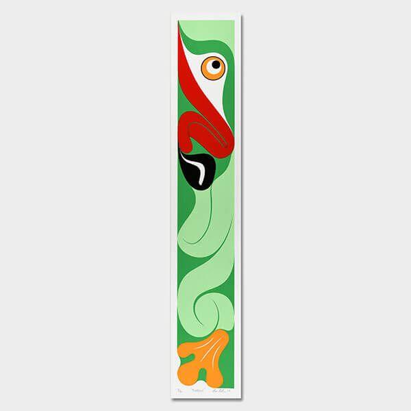 Frog Print by Northwest Coast Native Artist Ben Davidson
