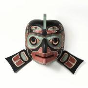 Wood Salmon Mask by Northwest Coast Native Artist Kevin Daniel Cranmer