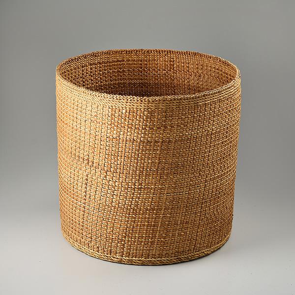 Cedar Bark Woven Basket by Northwest Coast Native Artist Merle Andersen
