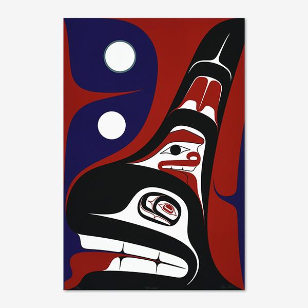 Tide Walker Print by Northwest Coast Native Artist Ben Davidson