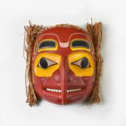 Wood and Bark Eagle Mask by Northwest Coast Native Artist Reg Davidson