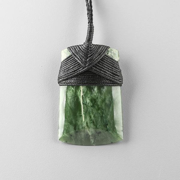 Jade Toki Pendant by Maori Artist