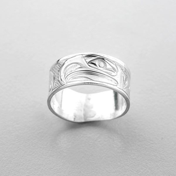 Silver Thunderbird Ring by Northwest Coast Native Artist Corrine Hunt