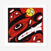 Haida Wolf Print by Northwest Coast Native Artist Lyle Campbell
