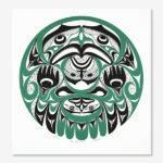 Northwest Coast Native Artist Art Thompson from Nuu-chah-nulth Nation