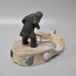 Inuit Native Artist Mathewsie Ashevak from Cape Dorset