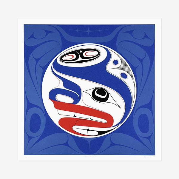 Llgaay Gwii Sdiihlda Restore Balance print by Northwest Coast Native artist Ben Davidson