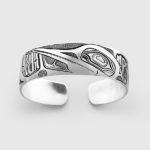 Silver Loon Bracelet by Native Artist David Neel
