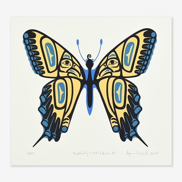 Butterfly, April White, Haida