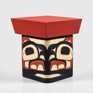 Wood Eagle Box by Northwest Coast Native Artist Joseph Campbell