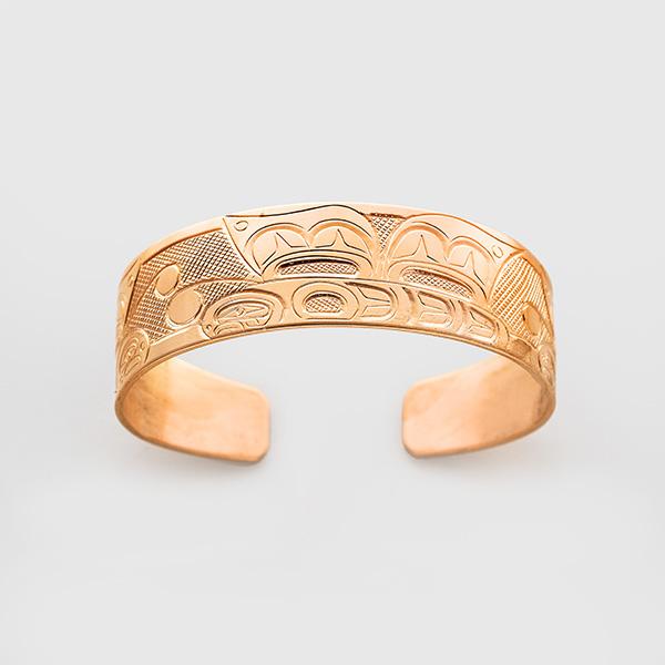 Copper Butterfly Bracelet by Native Artist Herb Lancaster
