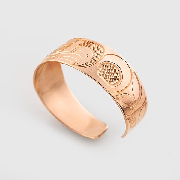 Copper Eagle Bracelet by Native Artist Herb Lancaster