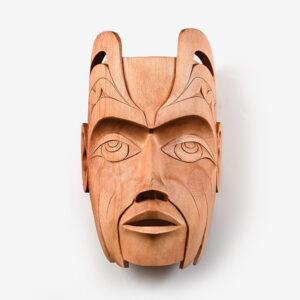 Wood Thunderbird Mask by Northwest Coast Native Artist Gordon Dick