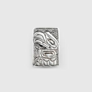 Silver Haida Eagle Pendant by Native Artist Walter Davidson