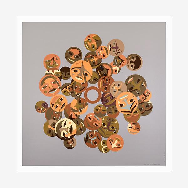 Timeless Circle Print by Northwest Coast Native Artist Susan Point