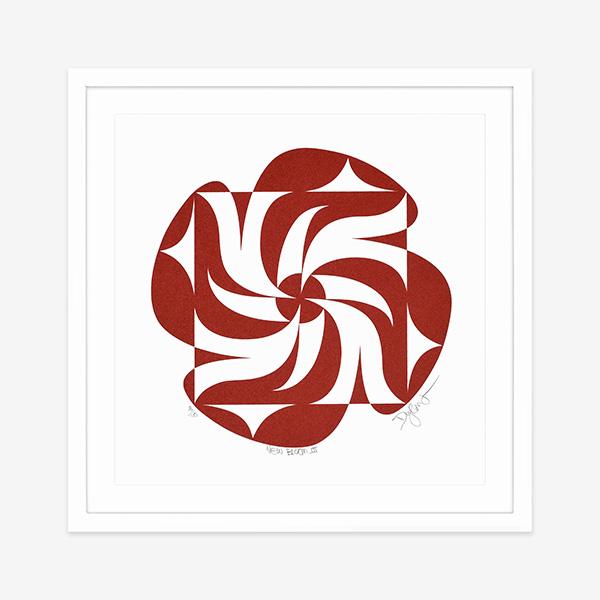 New Bloom Print by Northwest Coast Native Artist Dylan Thomas