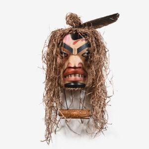 Shaman Mask by Northwest Coast Native Artist Doug David