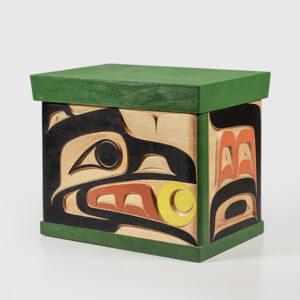 Raven Brings the Light Bentwood Box by Northwest Coast Native Artist Doug David
