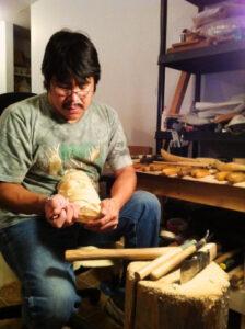 Eugene Alfred, Native artist, Northern Tutchone Tlingit