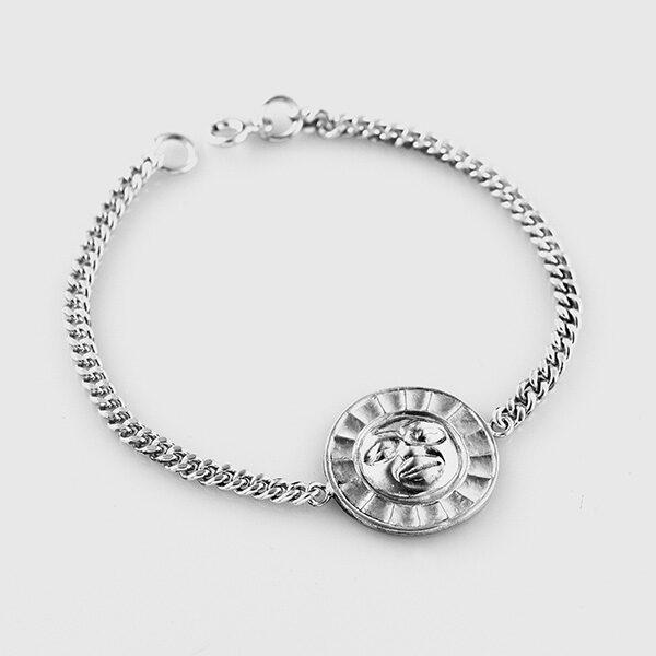 Sterling silver Moon Bracelet by Native Artist Philip Janze