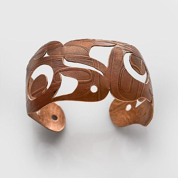 Copper Regalia Bracelet by Native Artist Gwaai Edenshaw