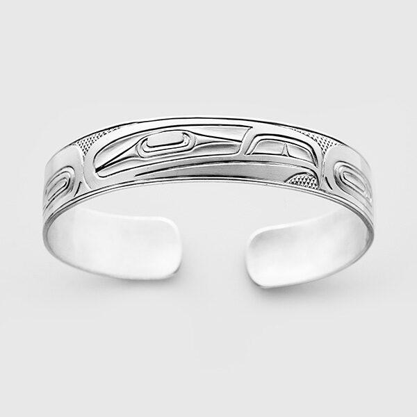 Silver Eagle Bracelet by Native Artist Richard Russ