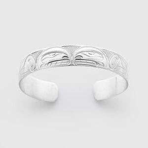Silver Killerwhale Bracelet