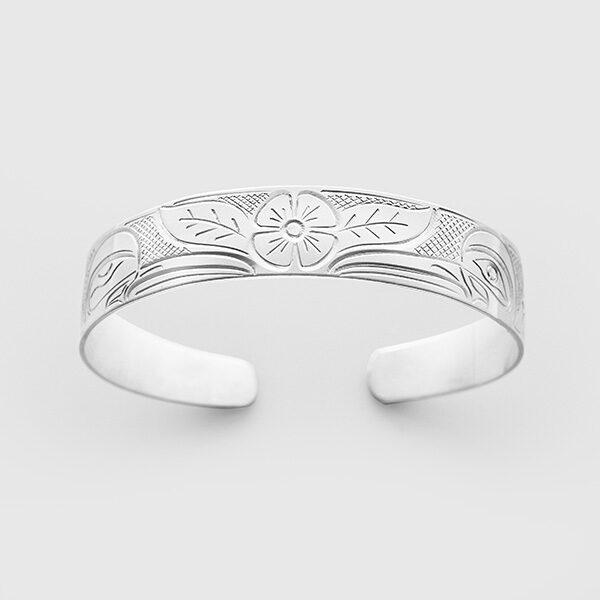 Silver Hummingbird Bracelet by John Lancaster