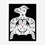 Thunderbird Print by Northwest Coast Native Artist Dylan Thomas