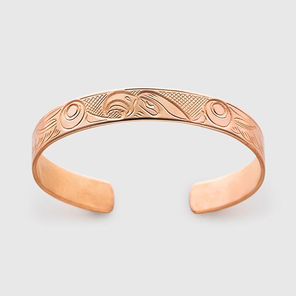 Copper Eagle Bracelet by Native Artist John Lancaster