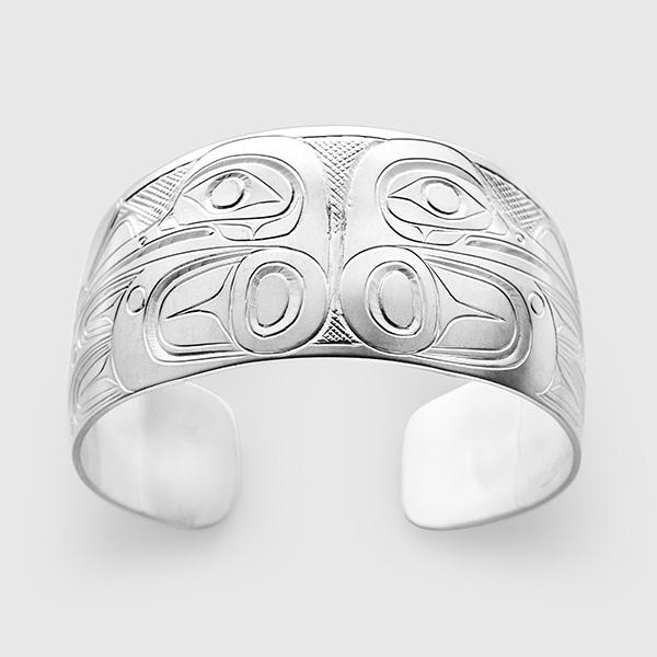 Silver Hummingbird Bracelet by Native Artist Don Lancaster