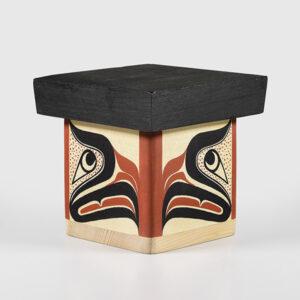 Wood Eagle Box by Northwest Coast Native Artist Adonis David